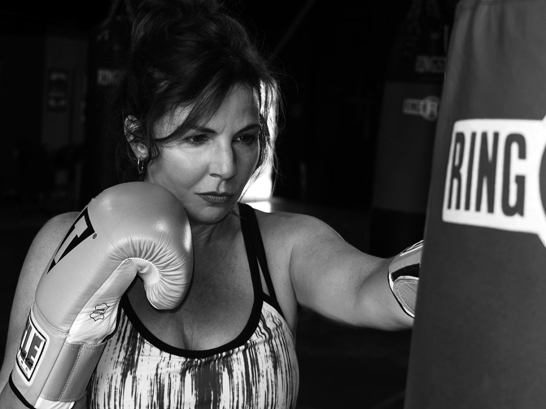 Whether working out on a boxing bag or a computer, Mary Breen is a champion.